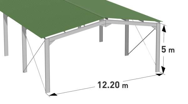 maison de l eleveur hangar metallique en kit ventana blog. Black Bedroom Furniture Sets. Home Design Ideas