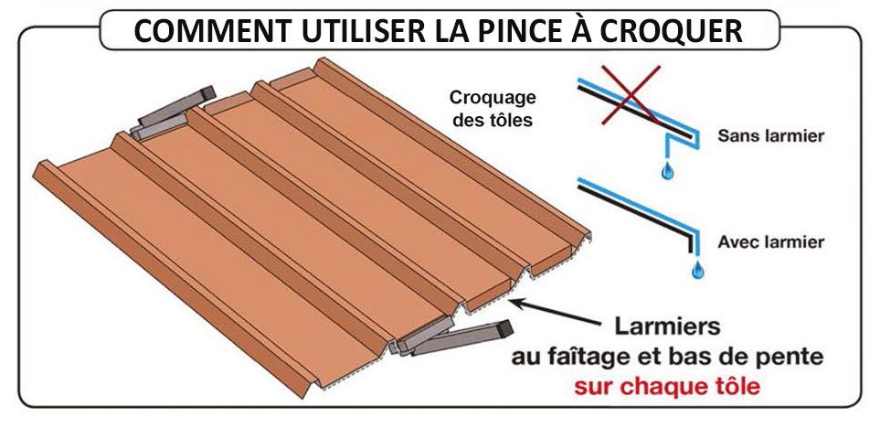 Pince croquer